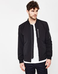 Selected Bomber Jacket Black