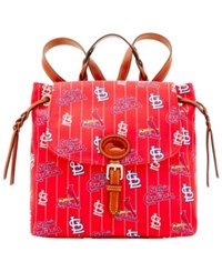 Dooney And Bourke St. Louis Cardinals Nylon Backpack Red