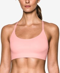 Under Armour Seamless Low Impact Compression Sports Bra Ballet Pink