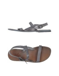 Local Apparel Sandals Dark Brown