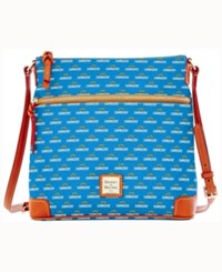 Dooney And Bourke San Diego Chargers Crossbody Purse Blue