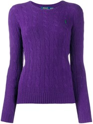 Ralph Lauren Cable Knit Round Neck Sweater 60