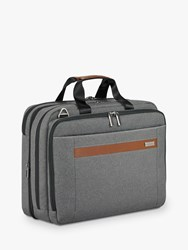 Briggs And Riley Kinzie Street 2.0 Medium Expandable Briefcase Grey