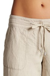 Tommy Bahama Two Palms Drawstring Linen Pant Beige
