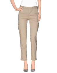Qcqc Trousers Casual Trousers Women Beige