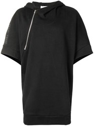 Lost And Found Rooms Hooded Sweatshirt Top Black