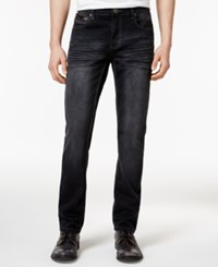 Inc International Concepts Men's Slim Fit Black Wash Jeans Only At Macy's