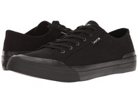 Huf Classic Lo Ess Tx Black Black 1 Men's Skate Shoes