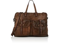 Campomaggi Leather Briefcase Brown