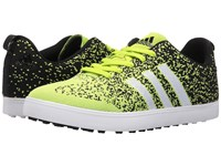 Adidas Adicross Primeknit Solar Slime Core Black Ftwr White Men's Golf Shoes Yellow