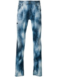 Just Cavalli Washed Effect Jeans Blue
