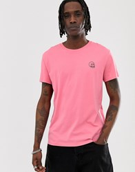 Cheap Monday T Shirt With Small Logo In Pink