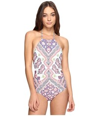 Billabong Luv Lost One Piece Multi Women's Swimsuits One Piece