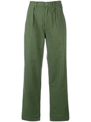 Citizens Of Humanity Relaxed Cropped Jeans Green