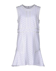 Marc By Marc Jacobs Short Dresses White