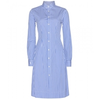 Polo Ralph Lauren Olivia Striped Cotton Shirt Dress