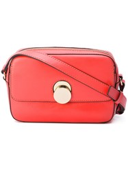 Tila March Mini Karlie Crossbody Bag Women Leather One Size Red