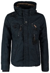 Khujo Franco Winter Jacket 450 Blau Dark Blue