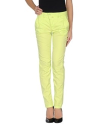 Drykorn Casual Pants Acid Green