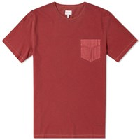 Gant Pocket Tee Red