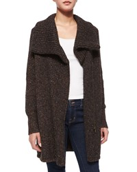 Joie Maurise Multicolor Tweed Cardigan Women's