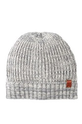 Bickley Mitchell Acrylic And Wool Beanie Gray