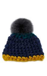 Mischa Lampert Beanie Dot Blue