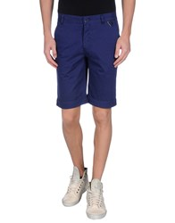 Eleven Paris Trousers Bermuda Shorts Men Dark Blue