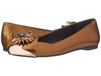 Ivy Kirzhner Celestial Copper Women's Flat Shoes Bronze