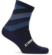 Castelli Free Kit 13 Stretch Nylon Socks Storm Blue