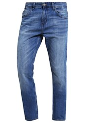 Tom Tailor Denim Aedan Straight Leg Jeans Light Stone Wash Denim Light Blue Denim