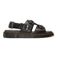 Dr. Martens Black Xabier Sandals