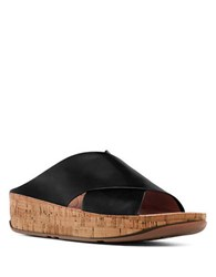 Fitflop Kys Tm Wedge Sandals Black