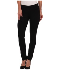 Nic Zoe Petite Perfect Ponte Pant Black Onyx Women's Casual Pants