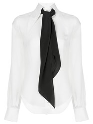 Alexis Crawford Scarf Detail Shirt 60