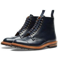 Tricker's End. X Toe Cap Boot Blue