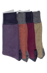Hook Albert 4 Pack Socks Red