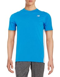 New Balance Athletic Tee Blue