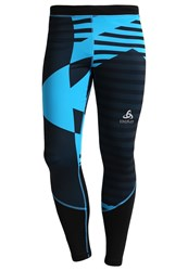 Odlo Vigor Tights Blue Jewel