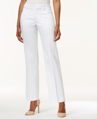 Lee Platinum Petite Madelyn Regular Fit Trousers White