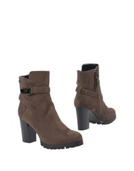 Braccialini Tua By Ankle Boots Dark Brown