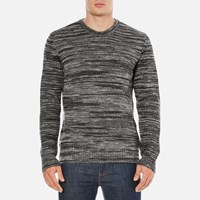 Ymc Men's Wickerman Crew Neck Jumper Charcoal Grey