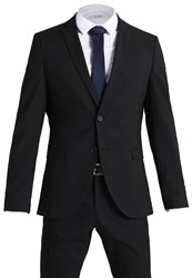 Selected Homme Shdnewone Mylologan Slim Fit Suit Black