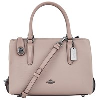 Coach Brooklyn 28 Leather Carryall Tote Bag Stone
