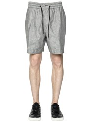 Bernardo Giusti Linen And Silk Shorts