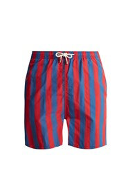 Solid And Striped The Classic Swim Shorts Red Navy