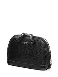 Aspinal Of London Hepburn Small Cosmetic Case Black