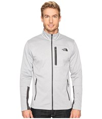 The North Face Canyonlands Full Zip Sweatshirt Tnf Light Grey Heather Men's Coat Gray