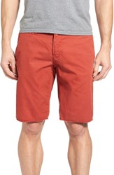 Original Paperbacks Men's 'St. Barts' Raw Edge Shorts Autumn