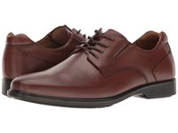 Hush Puppies Waterproof Echo Workday Tan Wp Leather Men's Shoes